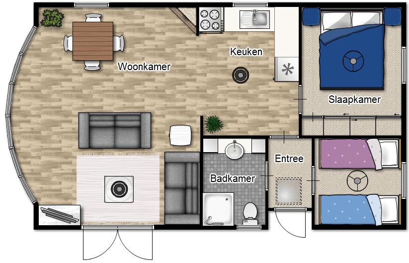 Residence bungavan-bungalow-huren-camping-ommen